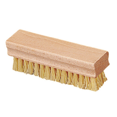 "Carlisle 4550042 1-1/2"" Hand/Nail Brush - Hardwood/Poly, Off White"