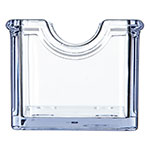 Carlisle 455007 Sugar Caddy w/ (20) Packet Capacity, Plastic, Clear
