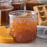 Carlisle 457107 Condiment J-Jar, 8 oz., Plastic, Clear, Lid Sold Separately, NSF