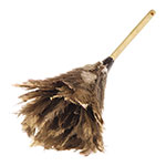 "Carlisle 4574300 24""L Feather Duster, Brown"