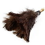 "Carlisle 4574400 21"" Feather Duster - Wood Handle"
