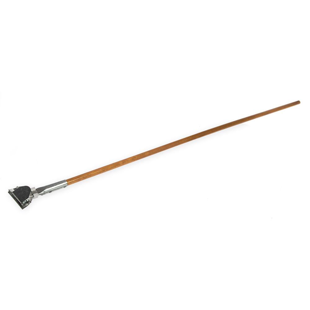 "Carlisle 4585000 60""L Dust Mop Handle w/ Clip-On Connector"