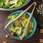 "Carlisle 460906 9""L Salad Tong - Plastic, Beige"