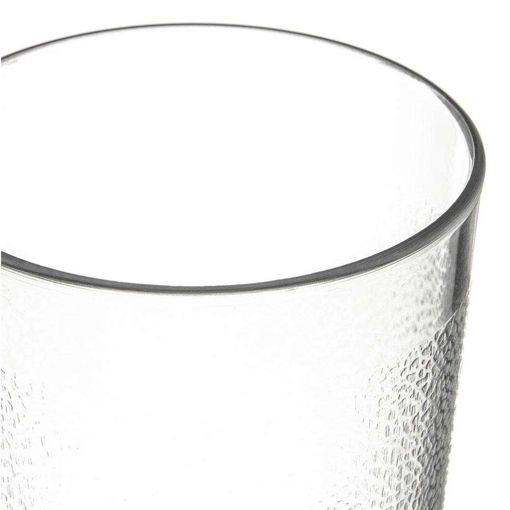 Carlisle 5108-207 8-oz Stackable Tumbler - Polycarbonate, Clear