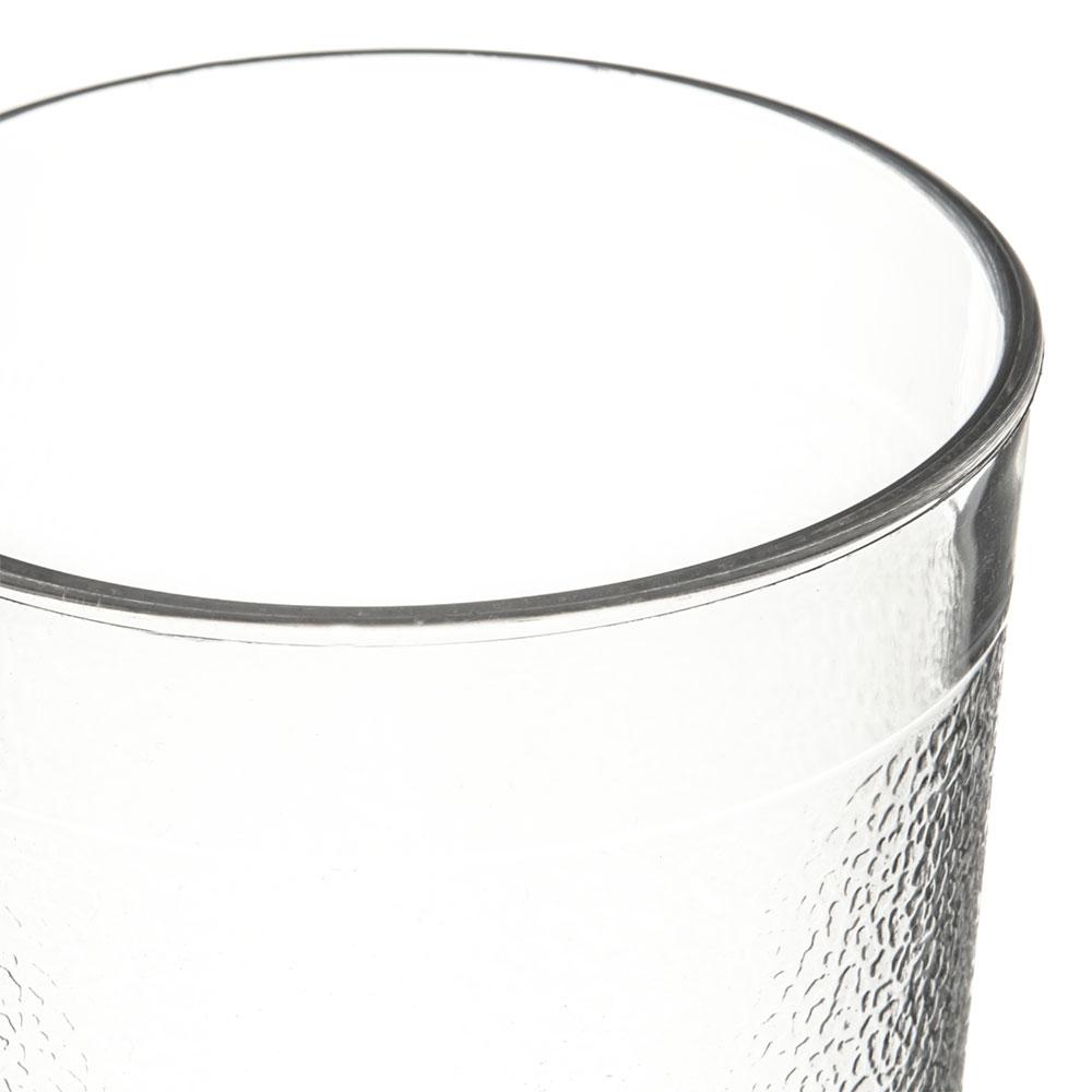 Carlisle 5109-207 9.5-oz Stackable Tumbler - Polycarbonate, Clear