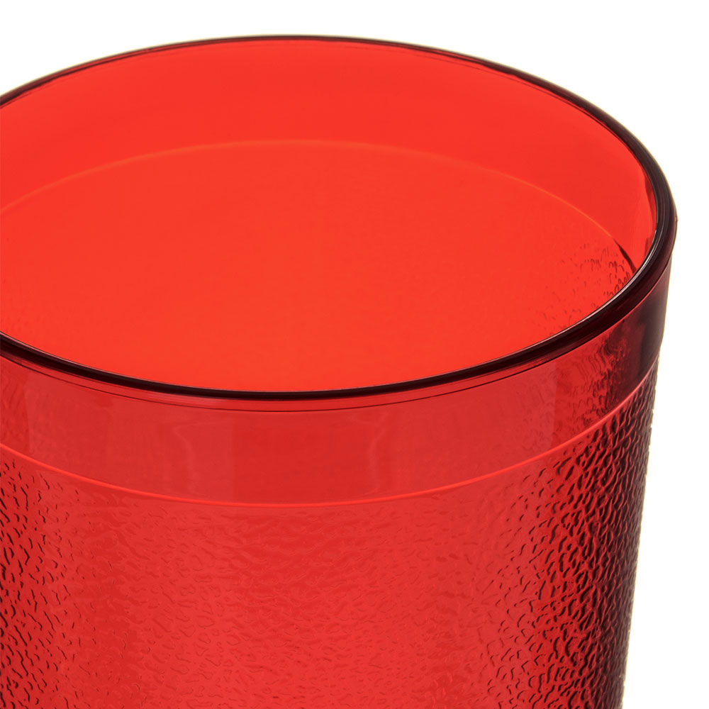Carlisle 5116-210 16.5-oz Stackable Tumbler - Polycarbonate, Ruby