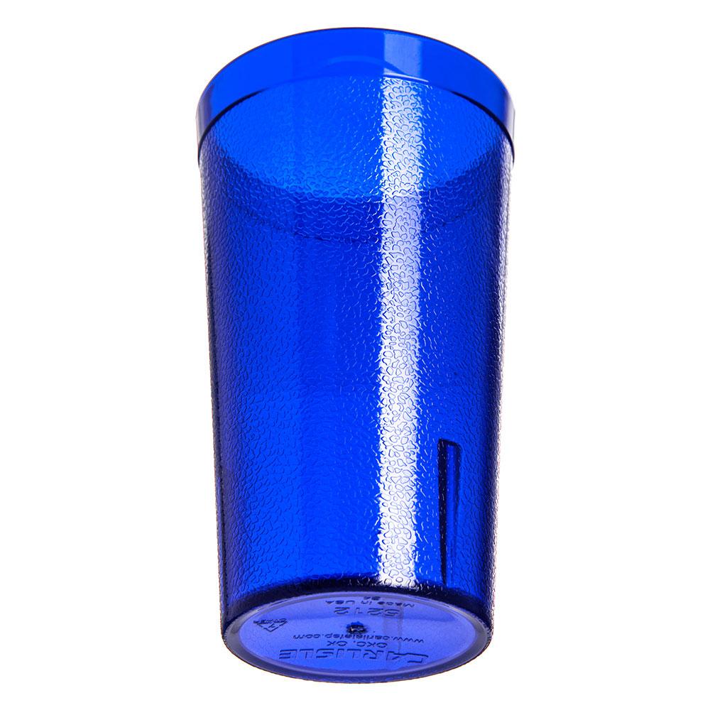 Carlisle 521247 12-oz Stackable Tumbler - Polycarbonate, Royal Blue