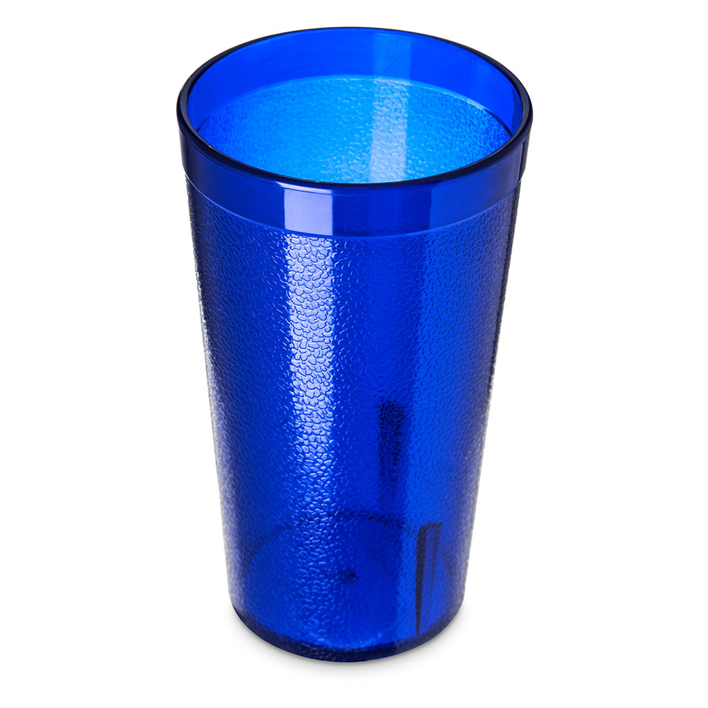 Carlisle 521247 12-oz Stackable Tumbler - Polycarbonate, Royal Blue