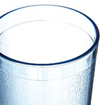 Carlisle 521254 12-oz Stackable Tumbler - Polycarbonate, Blue