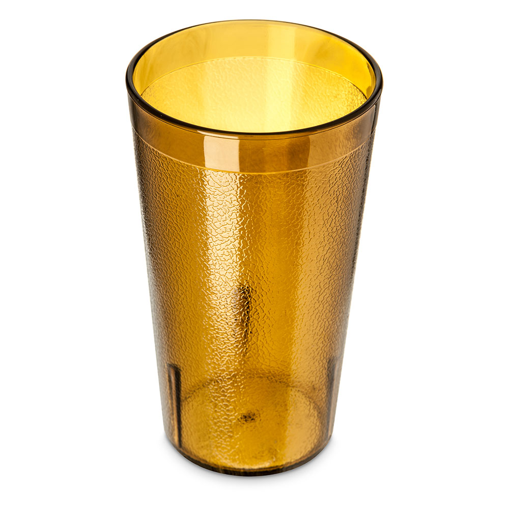 Carlisle 521213 12-oz Stackable Tumbler - Polycarbonate, Amber