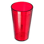 Carlisle 521210 Stackable Tumbler, 12 oz. Ruby