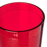 Carlisle 521210 12-oz Stackable Tumbler - Polycarbonate, Ruby