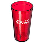 Carlisle 52163550D 16-oz Coca Cola Stackable Tumbler - Ruby