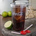 Carlisle 52163550E 16-oz Coca-Cola Stackable Tumbler - Plastic, Clear