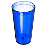 Carlisle 521647 16-oz Stackable Tumbler - Plastic, Royal Blue