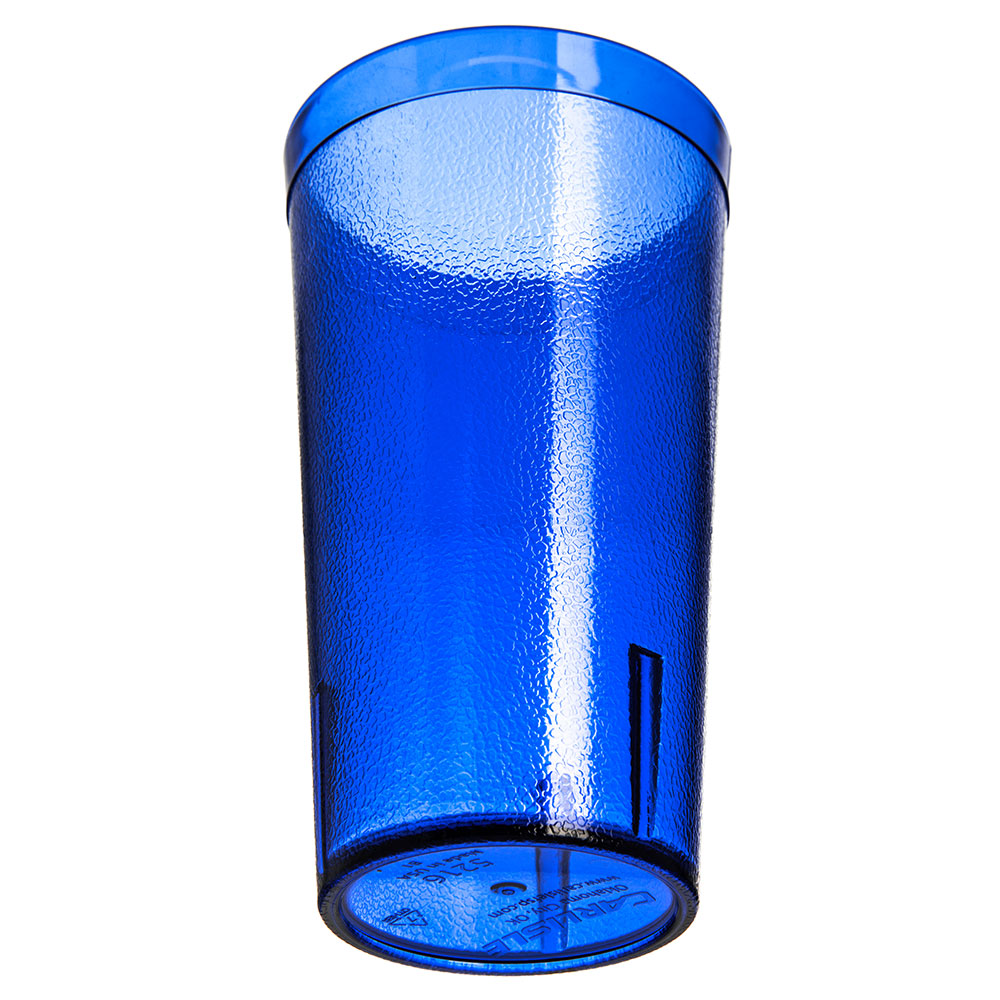 Carlisle 521647 16-oz Stackable Tumbler - Plastic, Royal Blue
