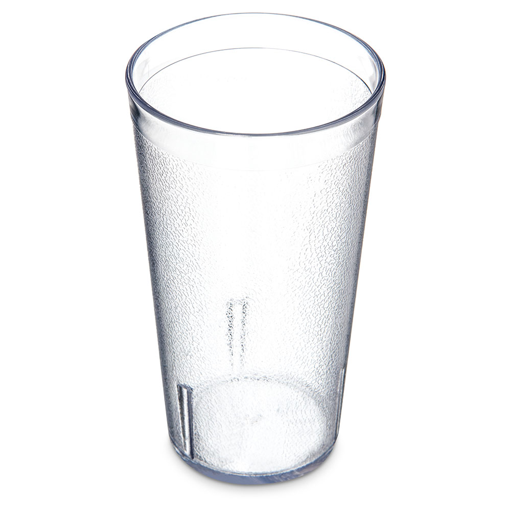 Carlisle 521607 Stackable Tumbler, 16 oz., SAN, Crystal