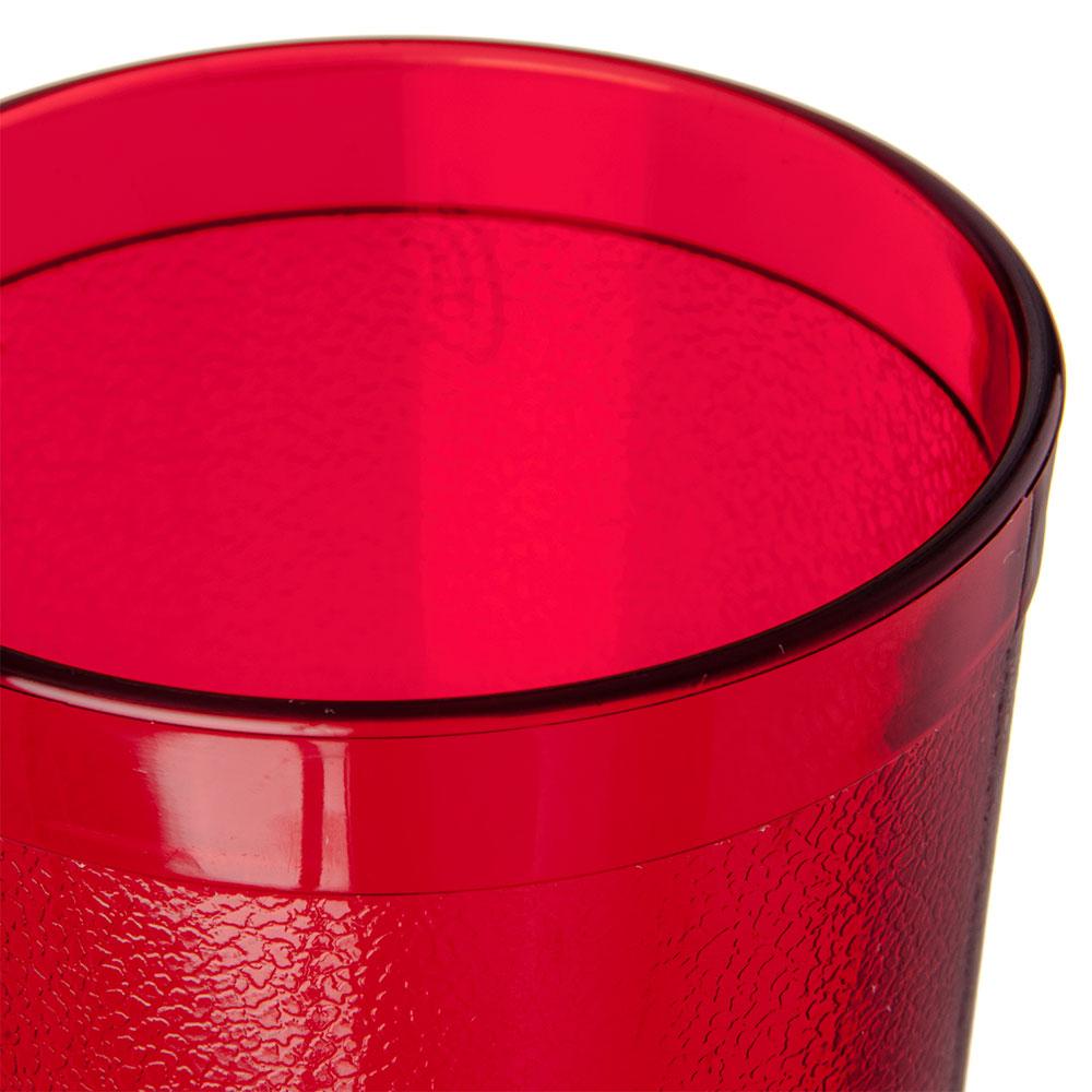 Carlisle 52203550 20-oz Coca-Cola Stackable Tumbler - Plastic, Ruby