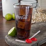 Carlisle 52203550A 20-oz Coca-Cola Stackable Tumbler - Plastic, Clear