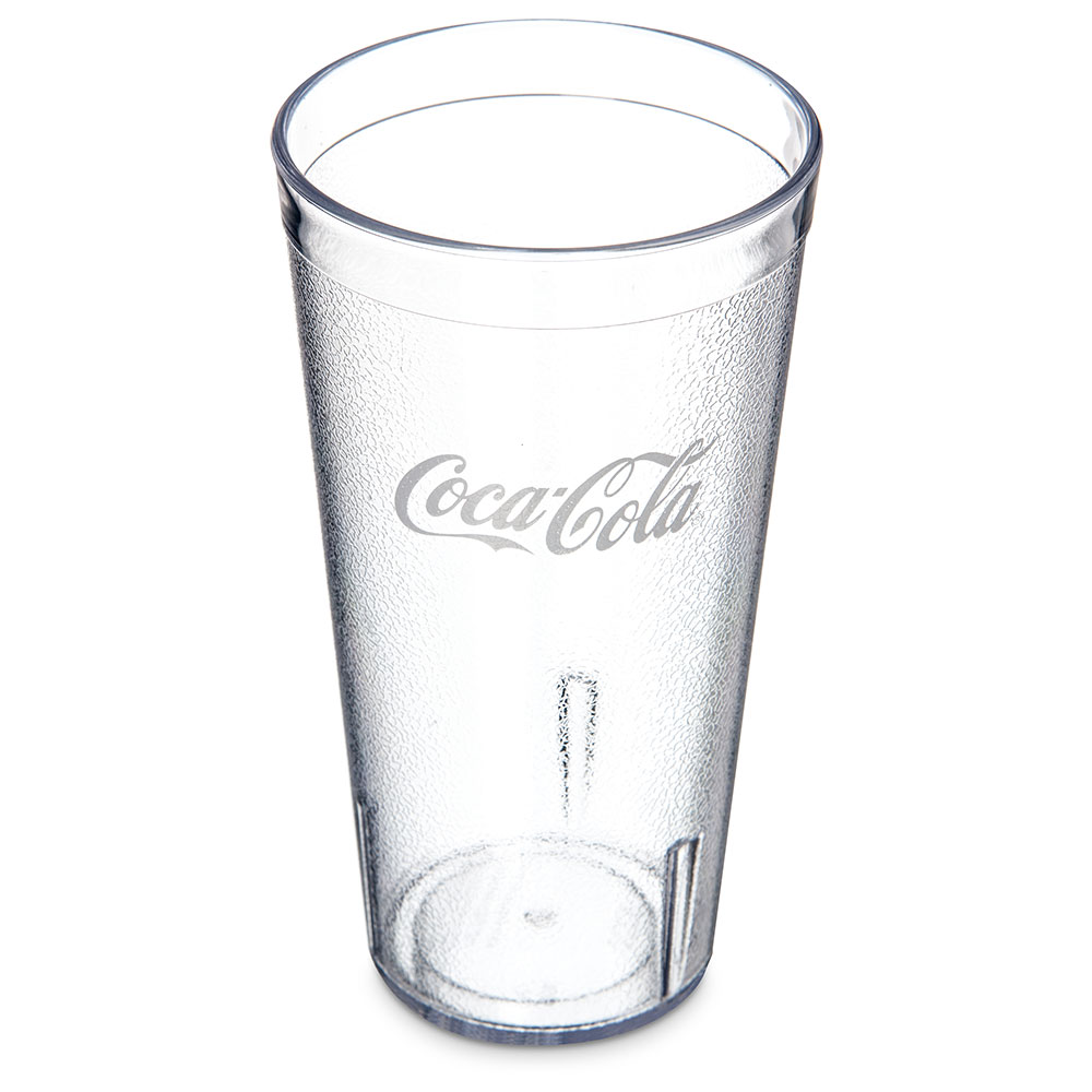 Carlisle 52203550A 20-oz Coca Cola Stackable Tumbler - Clear