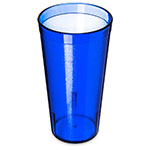 Carlisle 522047 20-oz Stackable Tumbler - Plastic, Royal Blue