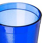 Carlisle 522047 20-oz Stackable Tumbler - Plastic, Royal Blue