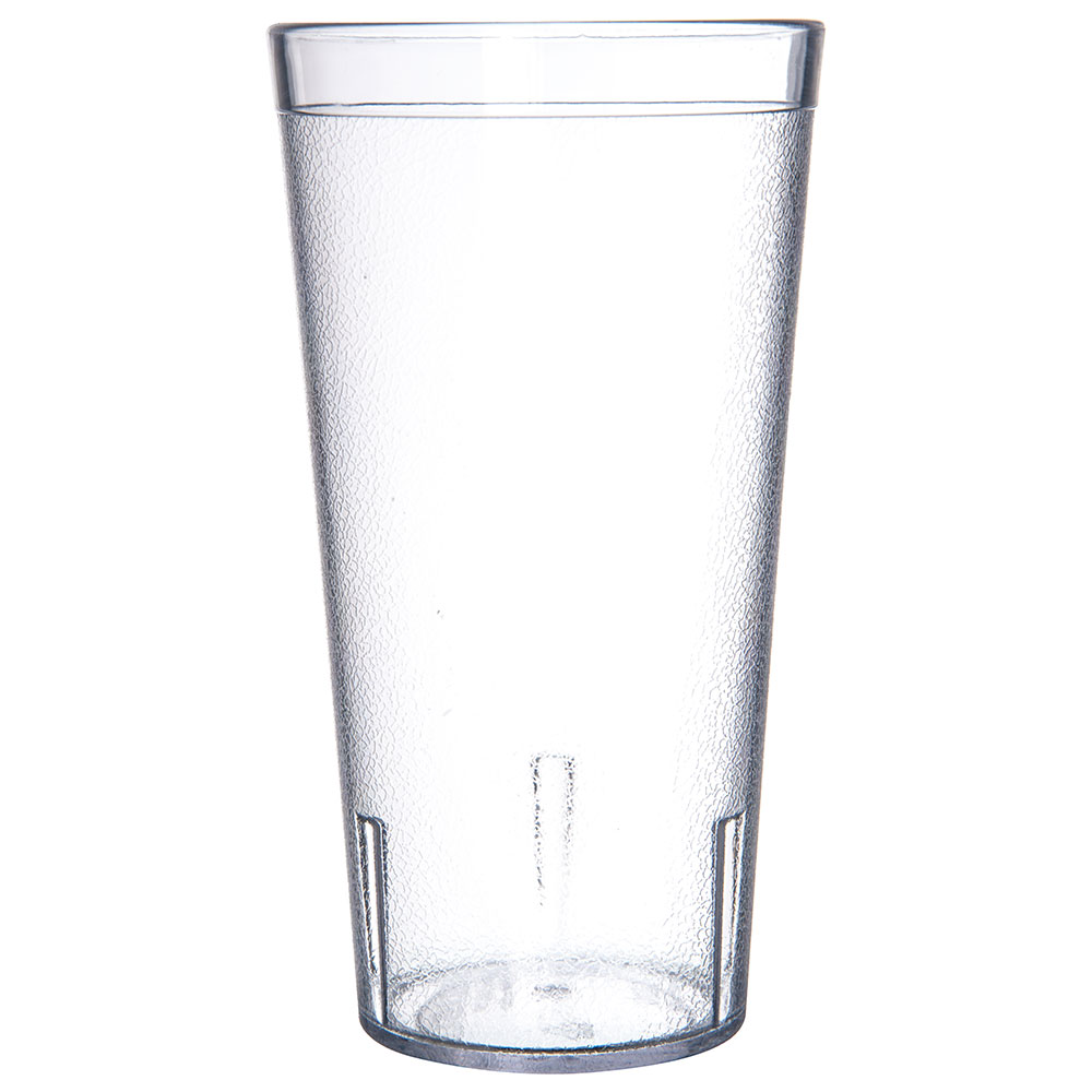 Carlisle 5220CS 20-oz Stackable Tumbler - Plastic, Crystal