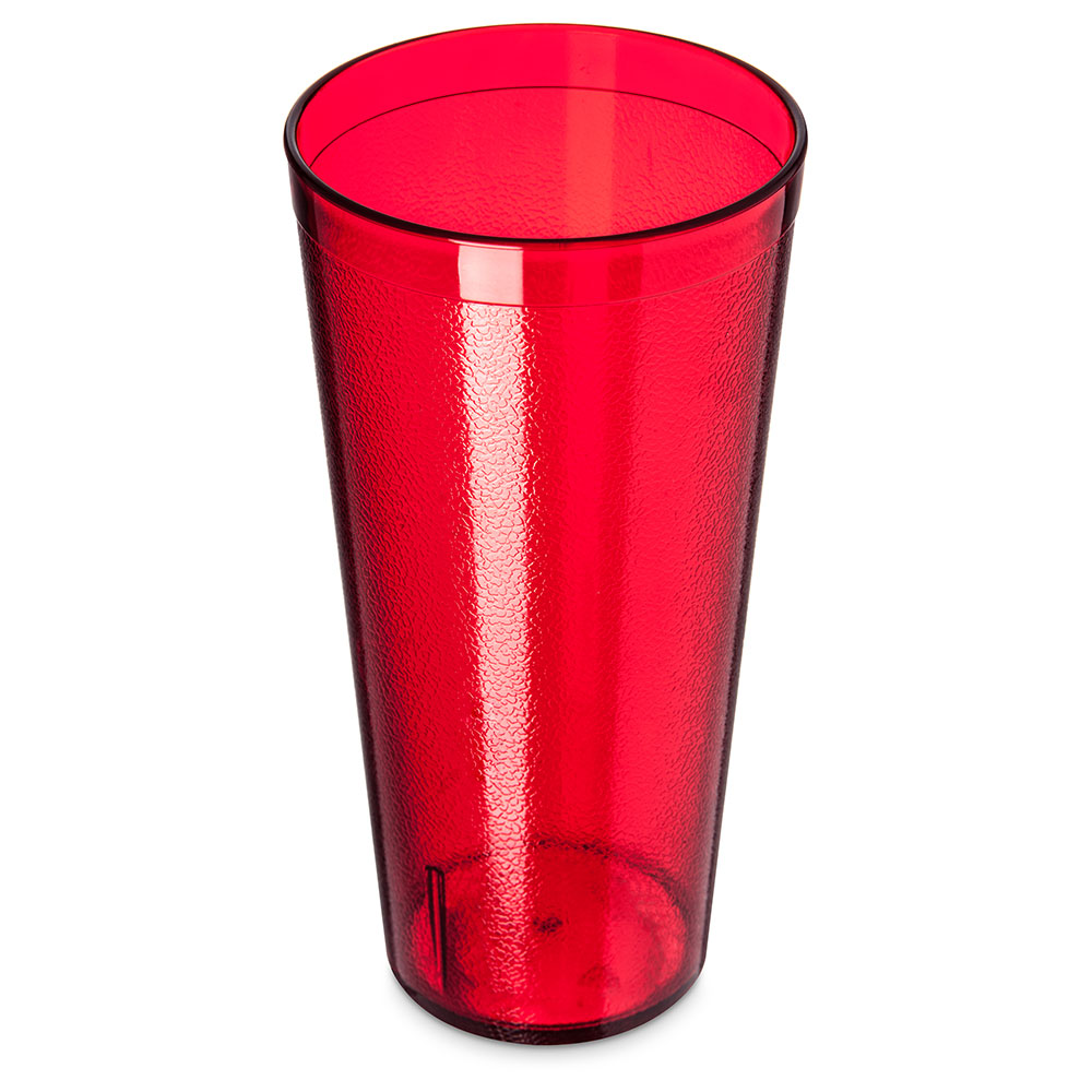 Carlisle 522410 24-oz Stackable Tumbler - Ruby