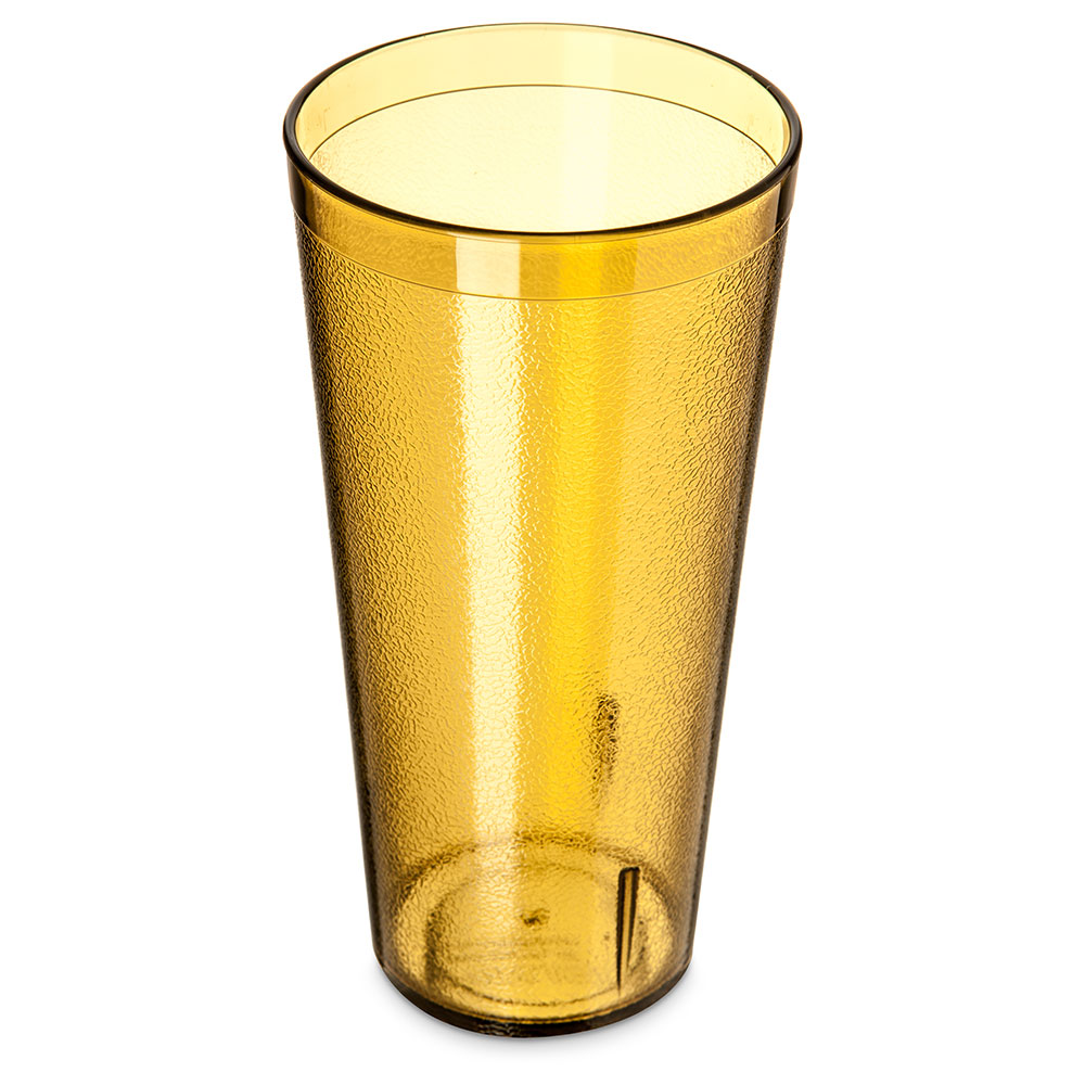 Carlisle 522413 24-oz Stackable Tumbler - Amber