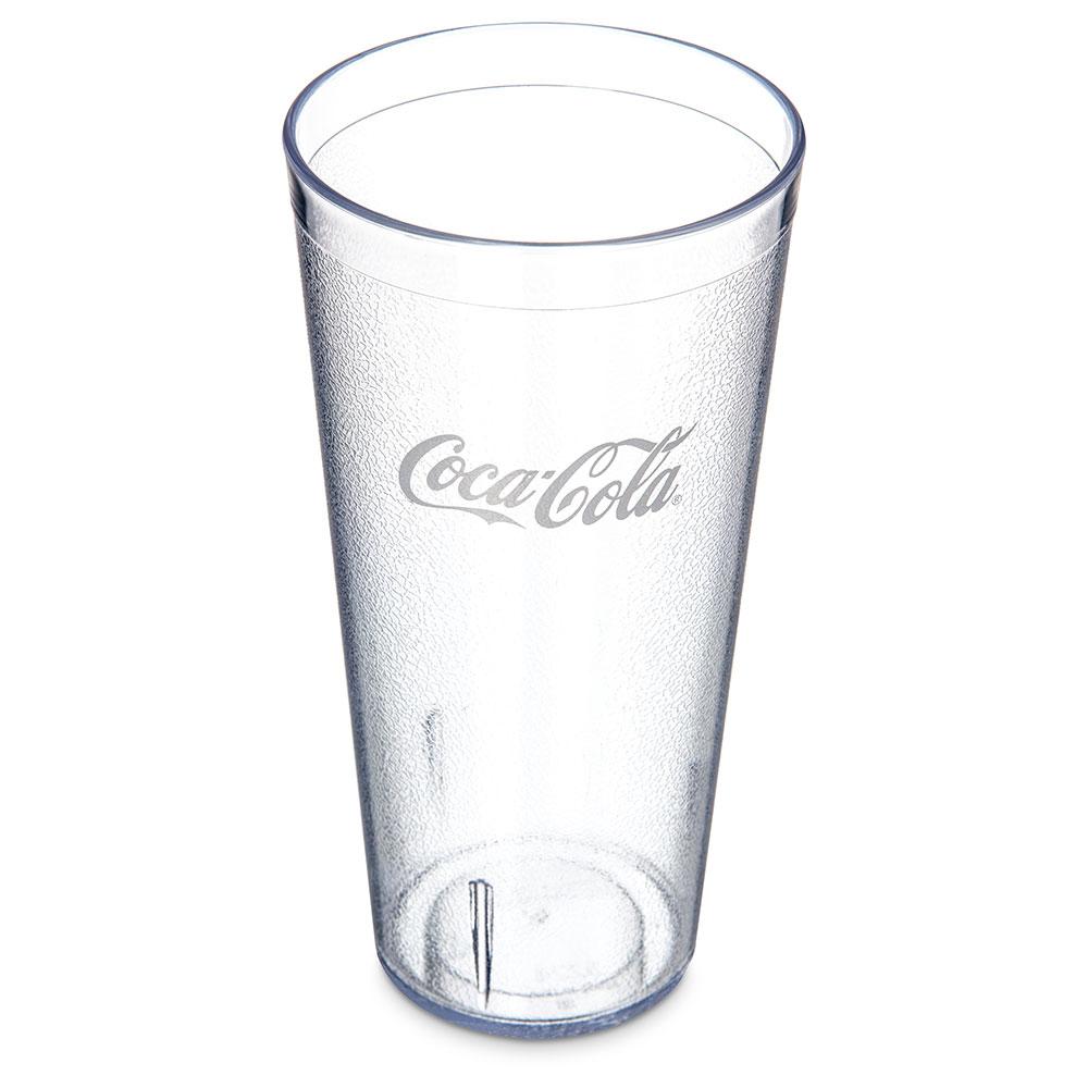 Carlisle 52243550G 24-oz Coca Cola Stackable Tumbler - Clear