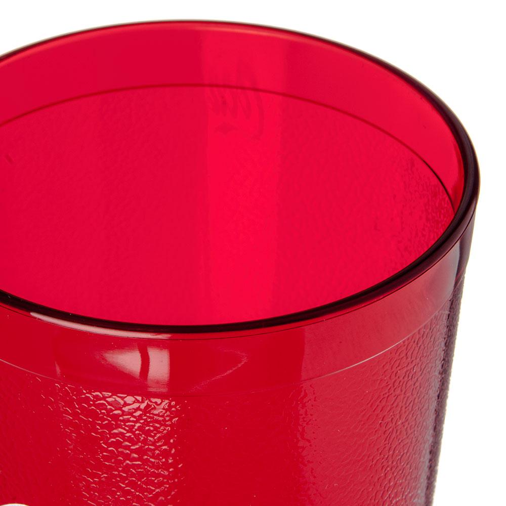 Carlisle 52243550H 24-oz Coca-Cola Stackable Tumbler - Plastic, Ruby
