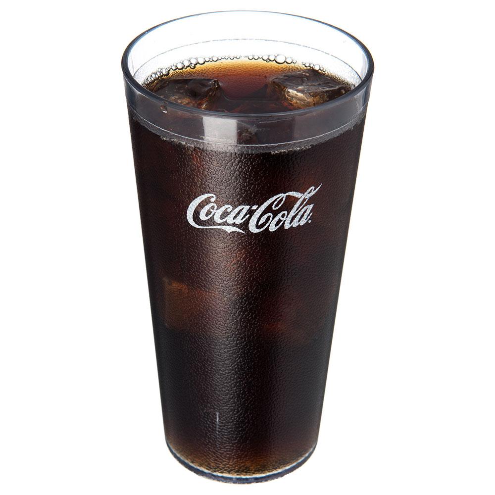 Carlisle 5232-63550J 32-oz Coca-Cola Stackable Tumbler - Plastic, Clear
