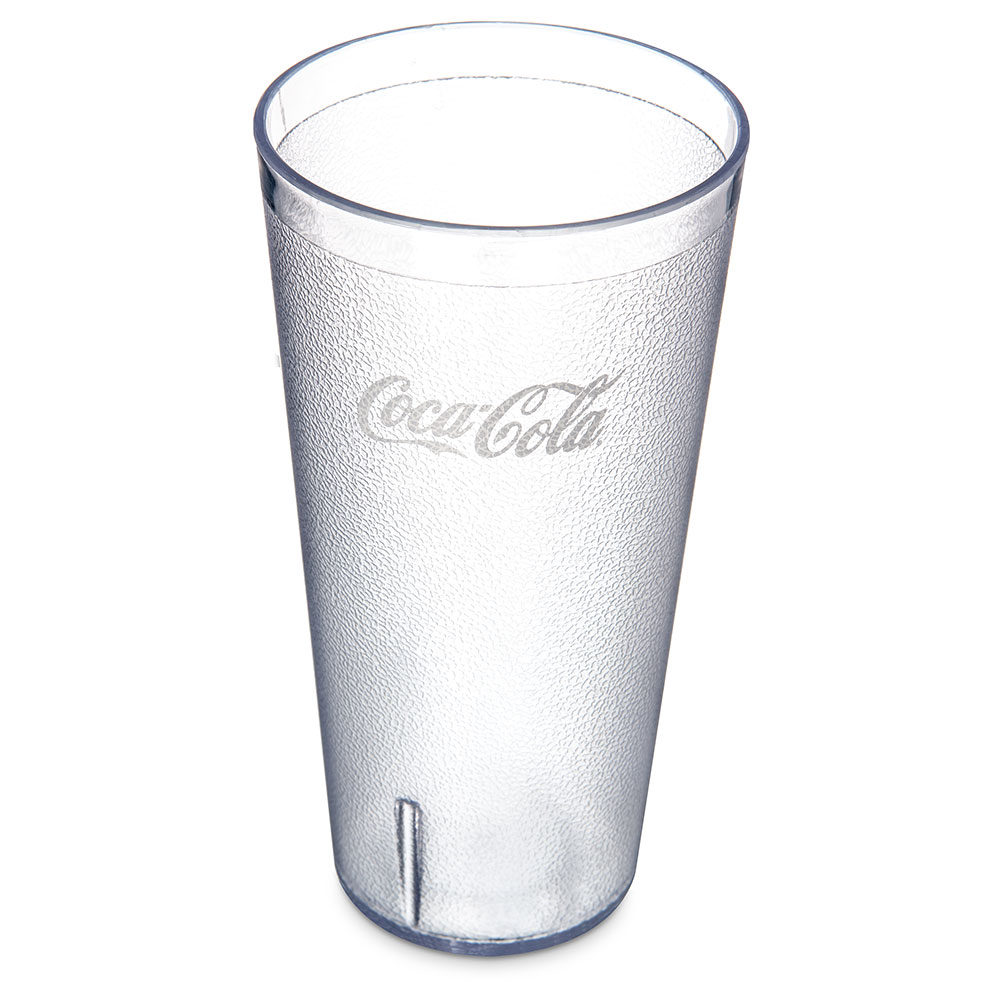 Carlisle 5232-63550J 32-oz Coca Cola Stackable Tall Tumbler - Clear