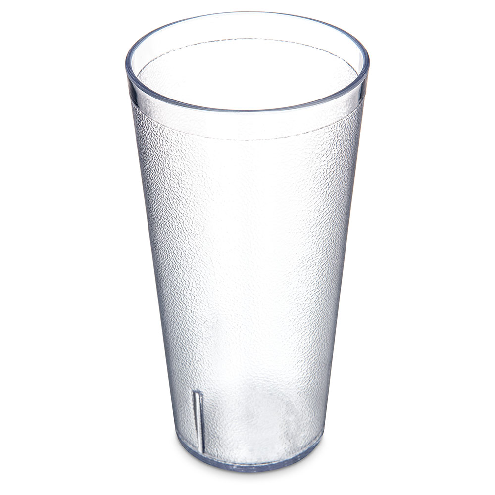 Carlisle 523207 Stackable Tumbler, 32 oz., SAN, Clear