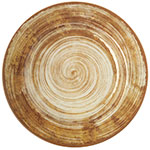 "Carlisle 5400117 11"" Mingle Dinner Plate - Melamine, Copper"