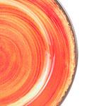 "Carlisle 5400152 11"" Round Dinner Plate - Melamine, Fireball"