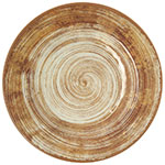 "Carlisle 5400217 9"" Mingle Salad Plate - Melamine, Copper"