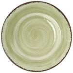 """Carlisle 5400246 9"""" Mingle Salad Plate - Melamine, Jade"""