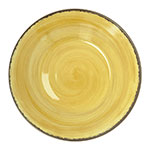 """Carlisle 5400313 9"""" Round Soup Bowl w/ 28.5-oz Capacity, Melamine, Amber"""