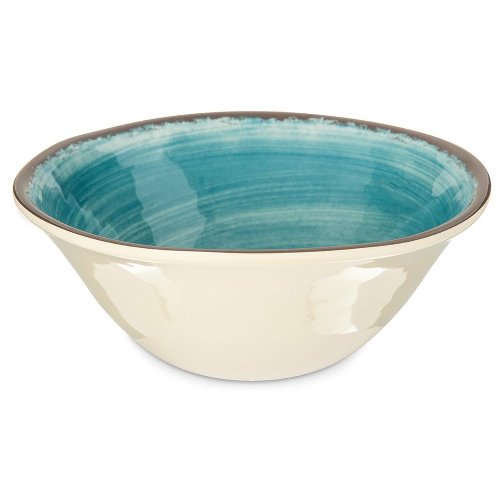 Carlisle 5400415 27-oz Mingle Ice Cream Bowl - Melamine, Teal