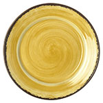"Carlisle 5400613 12.5"" Mingle Charger Plate - Melamine, Amber"