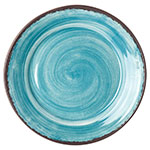 "Carlisle 5400615 12.5"" Mingle Charger Plate - Melamine, Teal"