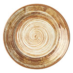"Carlisle 5400617 12.5"" Mingle Charger Plate - Melamine, Copper"