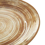 "Carlisle 5400617 12.5"" Round Charger Plate - Melamine, Copper"