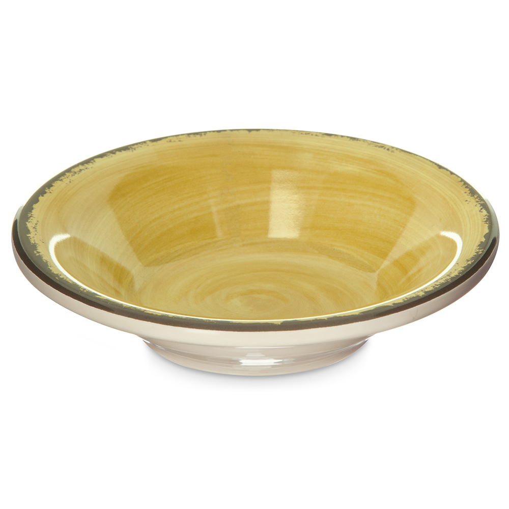 Carlisle 5401813 4.5-oz Mingle Fruit Bowl - Melamine, Amber