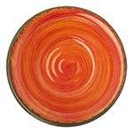 """Carlisle 5401852 5"""" Round Fruit Bowl w/ 4.5-oz Capacity, Melamine, Fireball"""