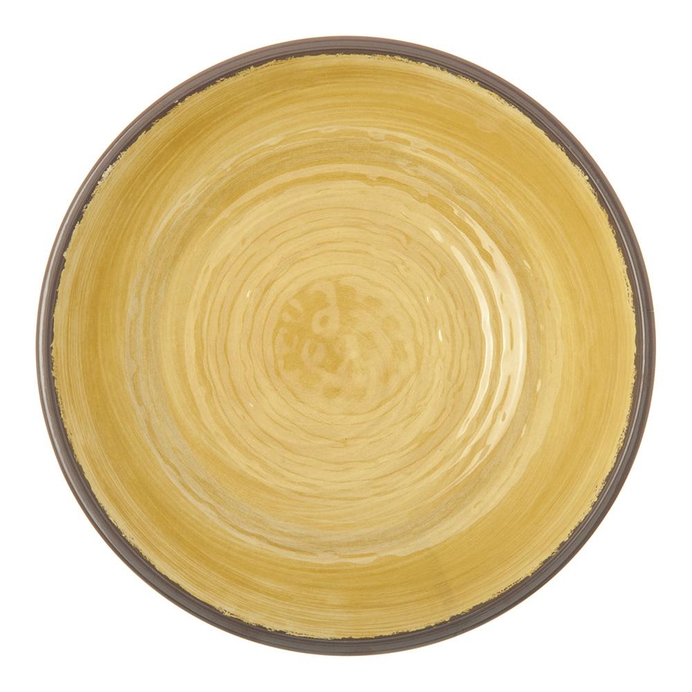 """Carlisle 5401913 8"""" Round Cereal Bowl w/ 35.5-oz Capacity, Melamine, Amber"""