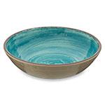 "Carlisle 5401915 8"" Round Cereal Bowl w/ 35.5-oz Capacity, Melamine, Aqua"