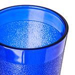 Carlisle 550647 9.5-oz Stackable Tumbler - Polycarbonate, Royal Blue