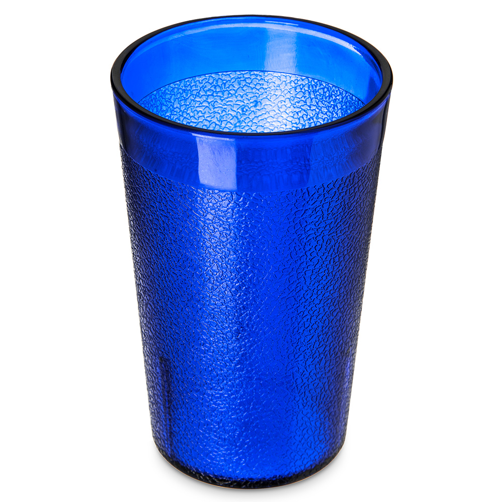 Carlisle 550647 9-1/2-oz Stackable Tumbler - Royal Blue
